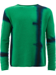 tie die print sweater Suzusan