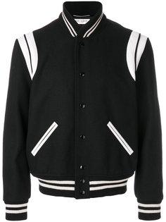 классическая университетская куртка Saint Laurent