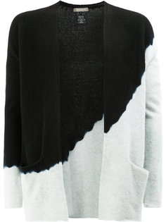 two tone cardigan Suzusan