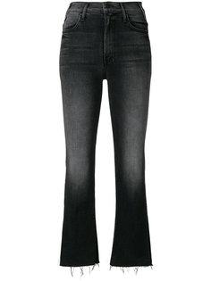 укороченные джинсы с бахромой The Hustler Mother