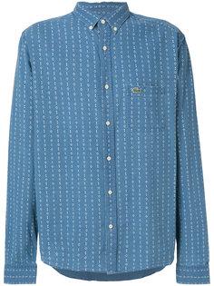 рубашка с узором и логотипом Lacoste Live