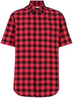 клетчатая рубашка с короткими рукавами Maison Margiela