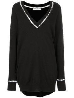 джемпер с вырезами  Givenchy