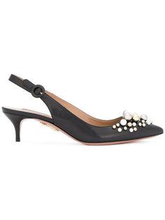 туфли с ремешком на пятке  Aquazzura