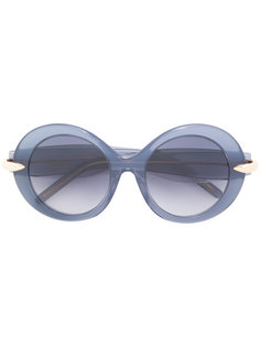 large round sunglasses Pomellato