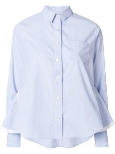рубашка на молнии  Sacai