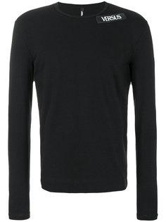 футболка с заплаткой с логотипом Versus