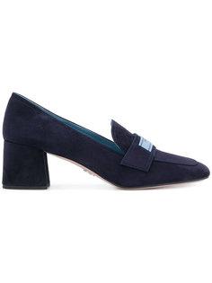туфли с логотипом  Prada