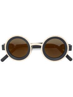 two tone round sunglasses Kuboraum