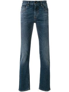 джинсы прямого кроя Prada