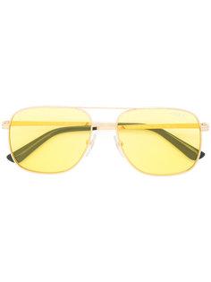 yellow aviators Vogue