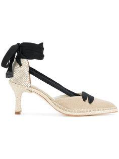 туфли на плетеной подошве 70 Manolo X Castaner
