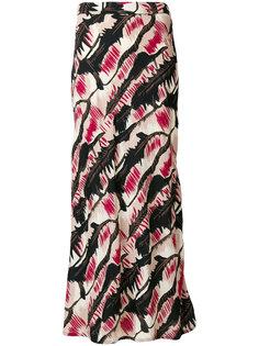 юбка с абстрактным принтом Marni