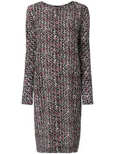 платье с абстрактным принтом Marni