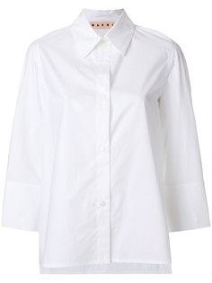 рубашка с укороченными рукавами Marni