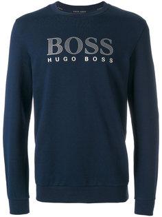 толстовка с принтом логотипа Boss Hugo Boss