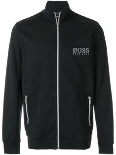 logo print zipped sweatshirt Boss Hugo Boss