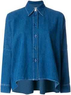 джинсовая рубашка мешковатого кроя Mm6 Maison Margiela