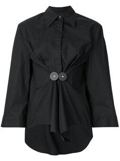 рубашка с присборенной талией Mm6 Maison Margiela