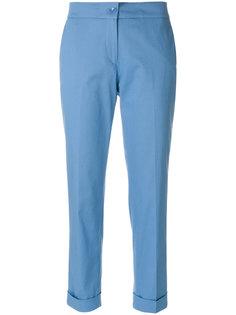 укороченные классические брюки Etro