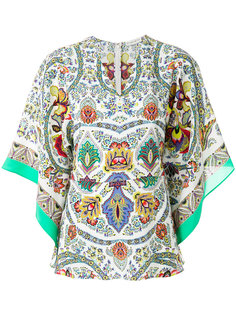 printed floaty blouse Etro