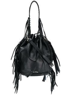 сумка-мешок с кисточкой Miu Miu