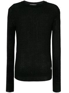 легкий вязаный свитер с косами Pierre Balmain