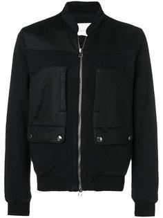 байкерская куртка-бомбер  Pierre Balmain