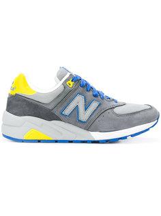 кроссовки  с конрастными панелями New Balance