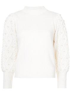 свитер с узором косы Co