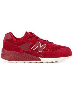 кроссовки со шнуровкой на платформе New Balance