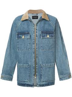 джинсовая куртка с контрастным воротником  Fear Of God