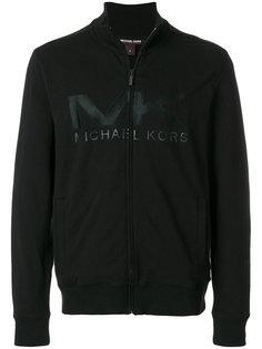 куртка на молнии с логотипом Michael Kors