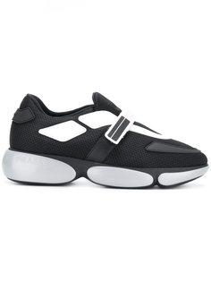 кроссовки с широкой подошвой  Prada
