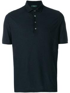 рубашка-поло на пуговицах Zanone