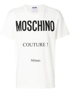 футболка Couture Milano Moschino