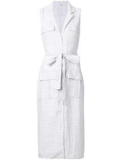 платье-рубашка с карманами James Perse