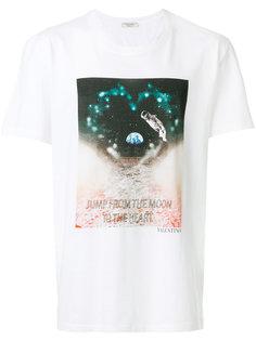 футболка с принтом over the moon Valentino