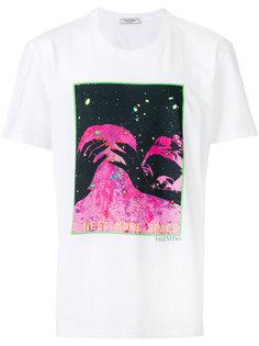 футболка с принтом I need more space Valentino