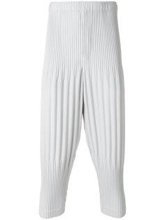 брюки с ребристой фактурой Homme Plissé Issey Miyake