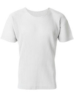 футболка с ребристой фактурой Homme Plissé Issey Miyake