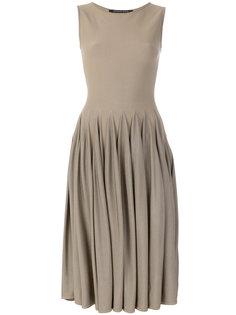 плиссированное платье  Antonino Valenti