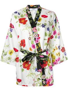 кимоно с цветочным принтом  Blugirl