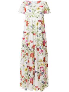 платье макси с цветочным принтом  Blugirl