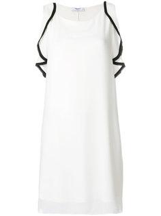 платье с рюшами Blugirl