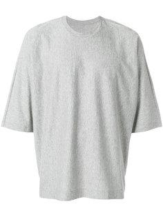 футболка свободного кроя Issey Miyake