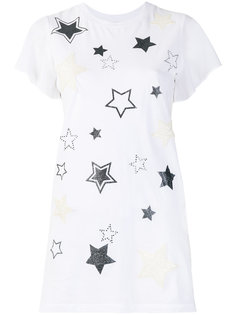 футболка с принтом звезд Twin-Set