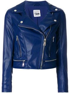 классическая байкерская куртка Twin-Set