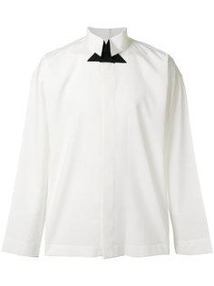 классическая рубашка с высоким воротником Issey Miyake