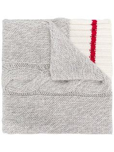 шарф вязки косичкой Gant By Michael Bastian